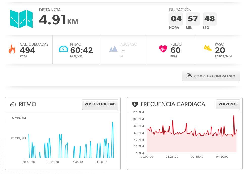 TomTom Runner Cardio, como monitor de actividad
