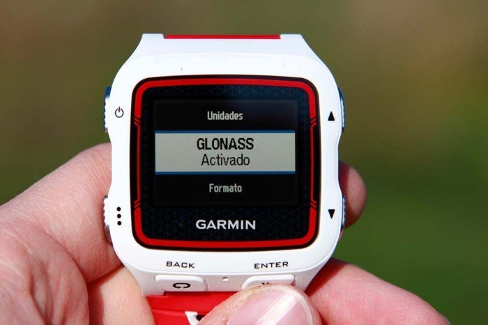 Garmin 920xt - GLONASS