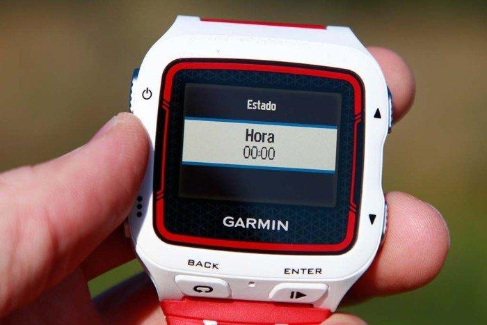 Garmin 920xt - Configuración de alarma