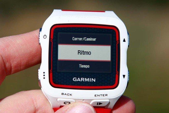 Garmin 920xt - Configuración de alertas 4