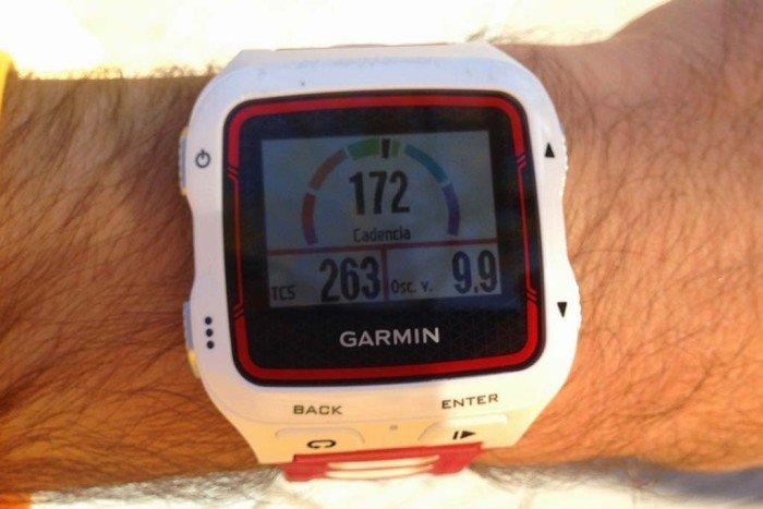 Garmin 920xt - Dinámica de carrera