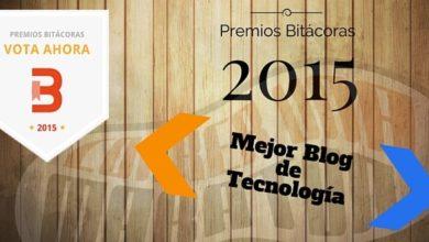 Foto de Actualización del estado de las votaciones para los Premios Bitácoras 2015