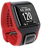TomTom Multisport Cardio - GPS de mano, rojo y negro