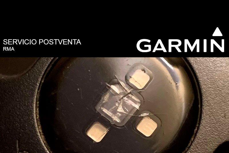 Cómo tramitar garantía Garmin